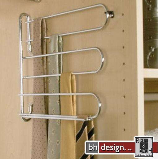 arte m krawattenhalter verchromt powered by bell head. Black Bedroom Furniture Sets. Home Design Ideas