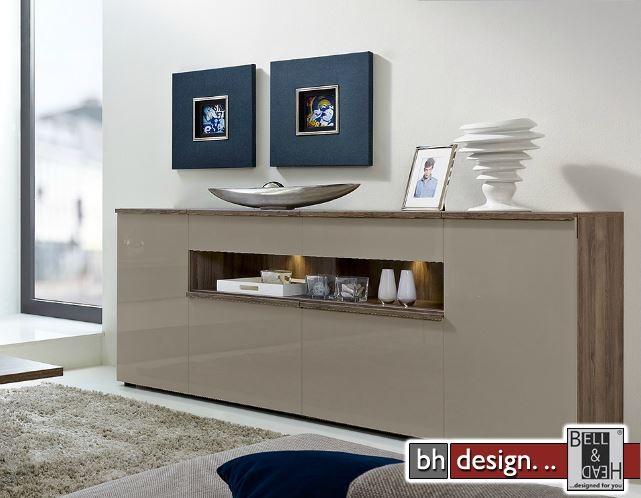 arte m kommode linea w in verschiedenen varianten 210 cm x 88 5 cm powered by bell head. Black Bedroom Furniture Sets. Home Design Ideas