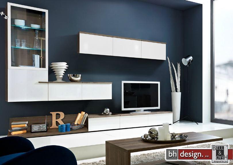 arte m wohnkombination linea w verschiedene varianten 300 cm x 200 cm x 55 cm powered by bell. Black Bedroom Furniture Sets. Home Design Ideas