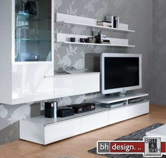 arte m wohnwand linea w verschiedene varianten 300 cm x 200 cm x 55 cm powered by bell head. Black Bedroom Furniture Sets. Home Design Ideas