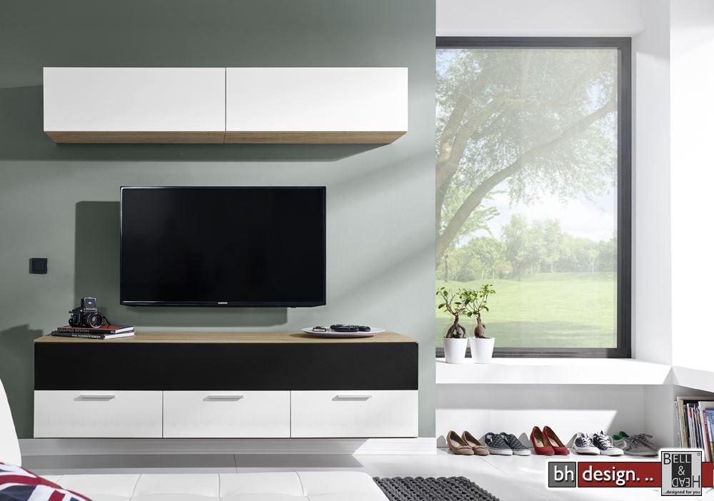 arte m motion medien wohnwand verschiedene farben und ausf hrungen 180 x 203 x 49 cm powered by. Black Bedroom Furniture Sets. Home Design Ideas