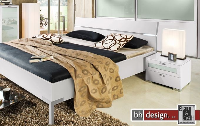 arte m bett choice weiss metallfuss powered by bell head preiswerte versandkosten innerhalb de. Black Bedroom Furniture Sets. Home Design Ideas