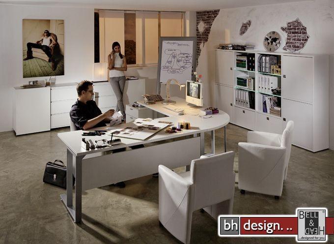 arte m schreibtisch level 3 weiss 240 cm x 240 cm powered by bell head preiswerte. Black Bedroom Furniture Sets. Home Design Ideas