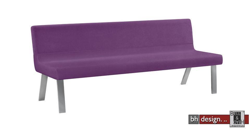 arte m polsterbank sam mit lehne in verschiedenen farben materialien und gr en w hlbar 180 cm. Black Bedroom Furniture Sets. Home Design Ideas