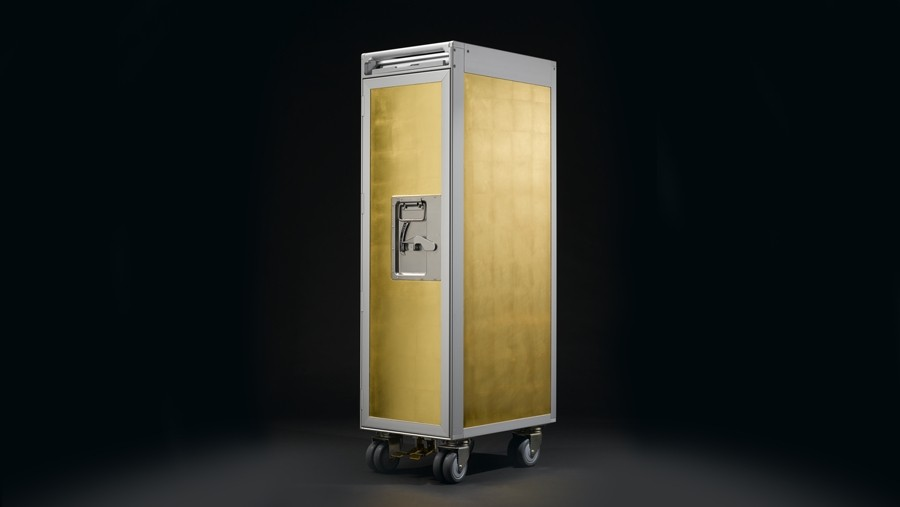 Skypak Flugzeugtrolley PURE GOLD Powered By Bell Amp Head