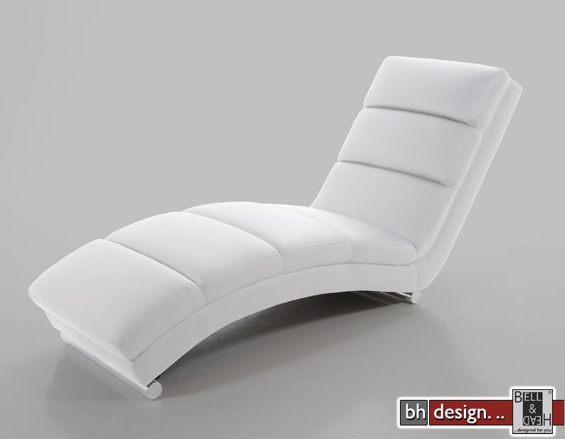 slinky design relaxliege weiss powered by bell head. Black Bedroom Furniture Sets. Home Design Ideas