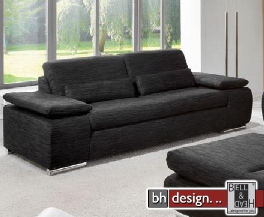 sofa team 3 sitzer baseline 161 in verschiedenen farben 230 x 97 cm powered by bell head. Black Bedroom Furniture Sets. Home Design Ideas