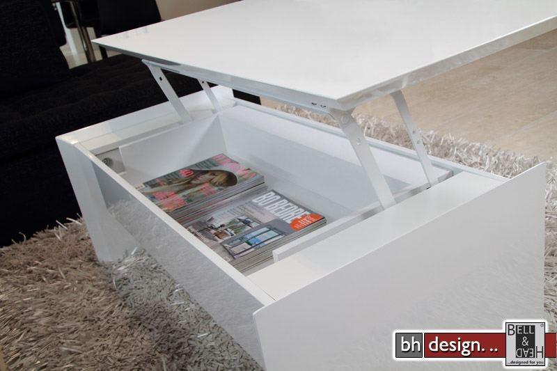 soley couchtisch hochglanz weiss mit funktion powered by. Black Bedroom Furniture Sets. Home Design Ideas