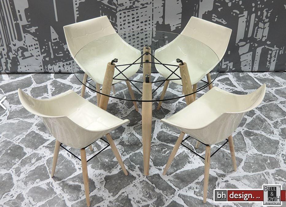 Design tisch glas rund  Esstisch Glas Rund. Elegant Esstisch Glas Ausziehbar Design Nauhuri ...