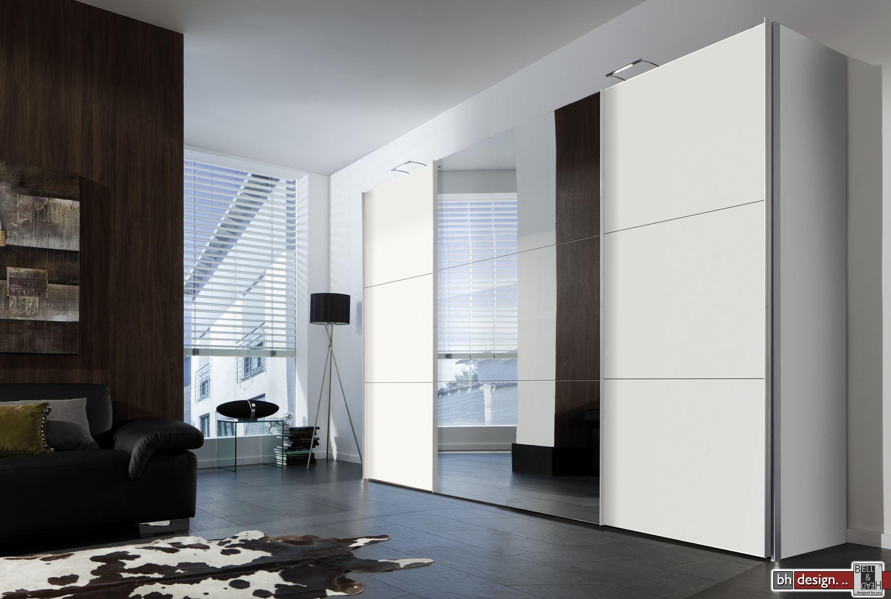 express m bel schwebet renschrank stars mit spiegel 150 cm bis 350 cm h he 216 cm oder h he. Black Bedroom Furniture Sets. Home Design Ideas