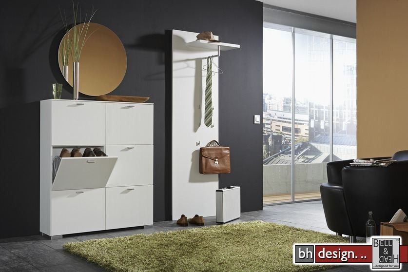 arte m garderobe weiss schwarz mit ablagefach wendefaehig 69 5 cm x 200 cm x 30 cm powered by. Black Bedroom Furniture Sets. Home Design Ideas