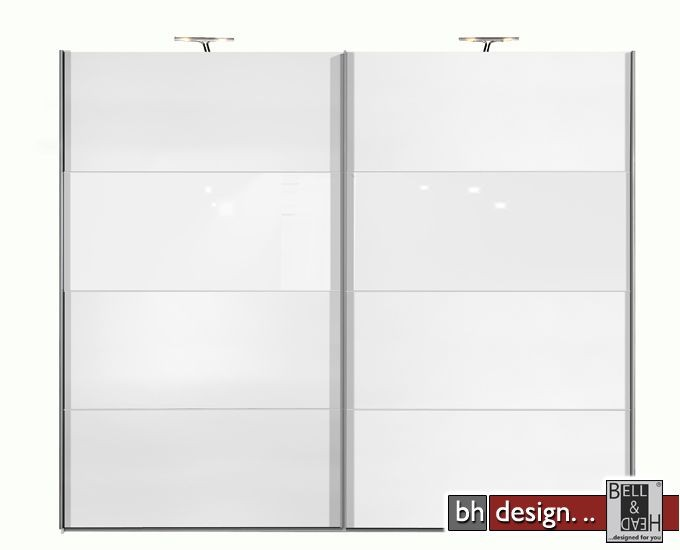 arte m schiebetuerenschrank style weiss weissglas powered by bell head preiswerte. Black Bedroom Furniture Sets. Home Design Ideas