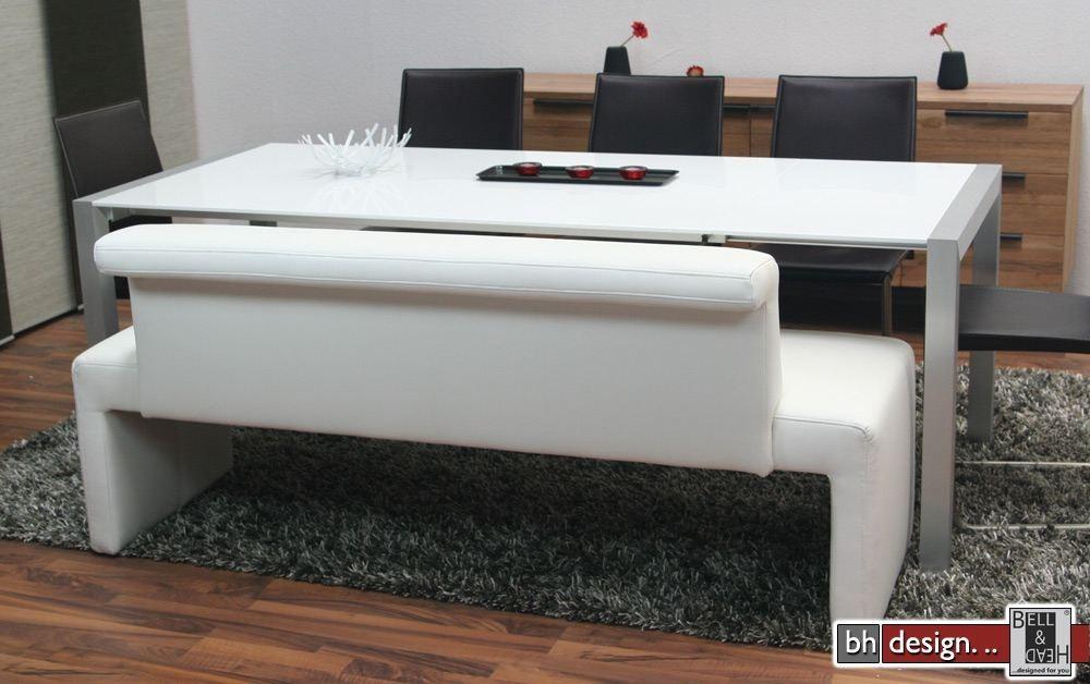 arte m polsterbank tokio mit r ckenlehne in verschiedenen. Black Bedroom Furniture Sets. Home Design Ideas