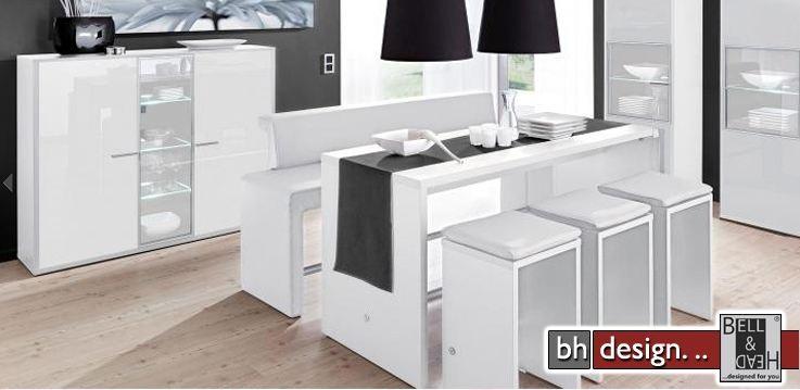 esszimmer weiß hochglanz: sideboards von topdesign und andere, Esszimmer dekoo