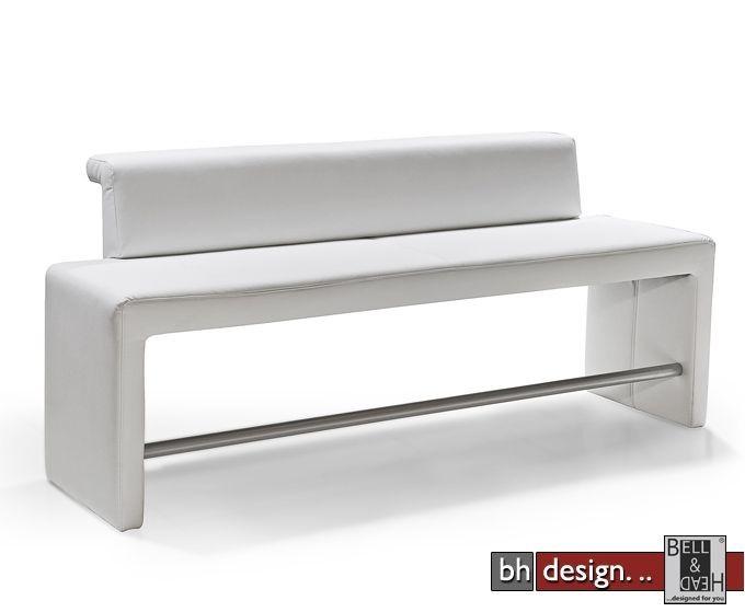 arte m polsterbank tokio hoch mit lehne 222 cm x 100 cm in. Black Bedroom Furniture Sets. Home Design Ideas
