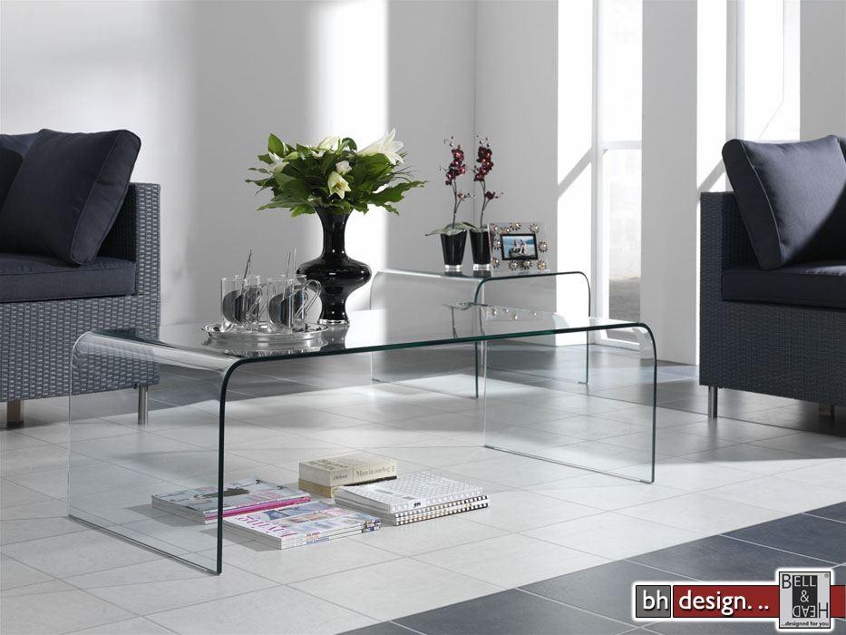 design couchtisch komplett aus glas designm bel online kaufen. Black Bedroom Furniture Sets. Home Design Ideas