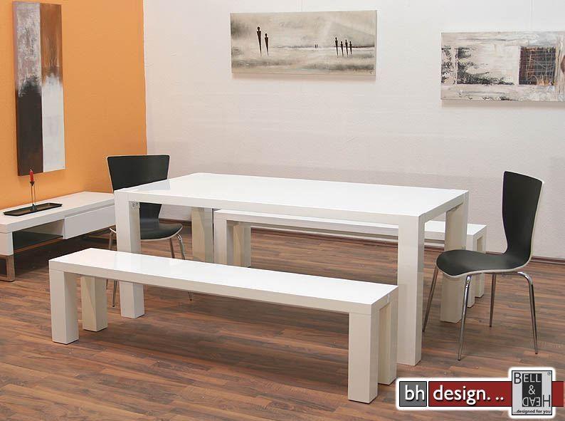 twister esstisch wei und beine weiss 180 cm powered by bell head preiswerte versandkosten. Black Bedroom Furniture Sets. Home Design Ideas
