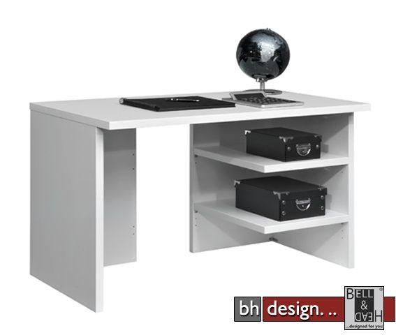 arte m schreibtisch work weiss 120 cm powered by bell head preiswerte versandkosten. Black Bedroom Furniture Sets. Home Design Ideas