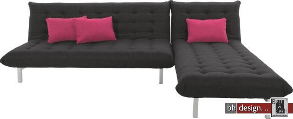 Chaiselongue mit schlaffunktion  zelbio-chaiselongue-new-york-stoff-anthrazit-mit-schlaffunktion ...