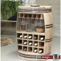 Crazy Weinfaß, Barschrank oder Weinregal by Canett Design