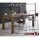 Nizza Esstisch massiv Akazienholz, recycled Holz 180 x 90 cm, alternativ 220 x 90 cm