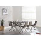 Stone Line  Esstisch / Konferenztisch Grauglas Gritstone in verschiedenen Größen und Varianten