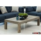 Mimosa Couchtisch Ulme massiv recycled Holz 140 x 80 cm