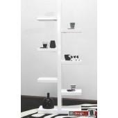 Bronsa Regal weiss hochglanz 180 x 70 cm