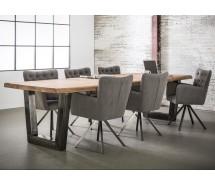 Rießiger Konferenztisch oder Esstisch Nature Line, massiv Akazienholz   300 x 100 cm
