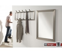 Carry Line Garderobe aus Edelstahl 36 x 90 cm