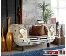Taxi Bank oder Sofa by Canett Design shabby look das Vorderteil vom Volvo P 120 Bj. 1960