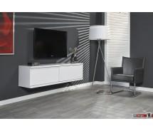 Diffuso Hängeboard / TV Tisch 160  x 42 cm in weiss