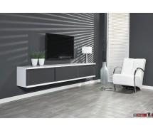 Diffuso Hängeboard / TV Tisch 240  x 42 cm in verschiedenen Farben  matt lackiert