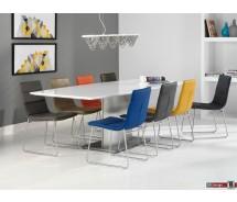 Lafite Designstuhl  Durabak und Chrom in verschiedenen Farben