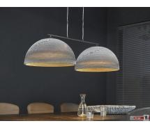 Nature Line Hängelampe 2-er Set  mit Karton Lampenschirm 125 x  H 150 cm