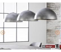 Industrie Line Hängelampe 3-er Set  Metall shabby look 200 x  H 150 cm