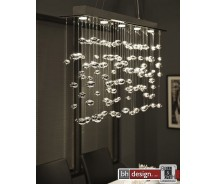 Lounge Line Pendelleuchte &quot;Bubbles&quot; mit 5 Leuchten verchromt
