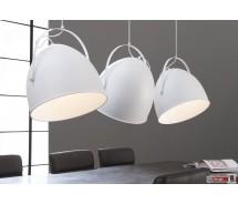 Industrie Line Hängelampe 3-er Set  mit verstellbaren Lampenschirmen 152 x  H 150 cm