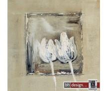 "Bilderset 40 x 40 cm ""Flowers of sand"""