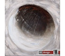 "Bilderset 70 x 70 cm ""Big balanced circle"""