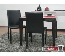 Andree Designlederstuhl schwarz