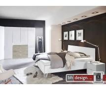 """Arte M Bett """"Moon"""" Schwebesockel oder Vierfuß , verschiedene Größen und Varianten"""