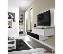 Arte M Wave Medien Wohnwand  verschiedene Farben und Ausführungen 240 x 150 x 49 cm