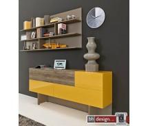 Arte M Sideboard Beam mit Klappe und Schubkasten in verschiedenen Farben und Größen
