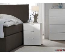Express Möbel Nachtkonsole Carina , 3 Schubladen, verschiedene Farbvarianten B 40 cm x H 61 cm