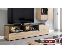 Arte M TV Element Chase, 3 Schubkästen, wendefähig  verschiedene Farben 182 x 48 x 45 cm
