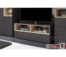 Arte M TV Element Chase, 2 Schubkästen,  verschiedene Farben 122 x 48 x 45 cm