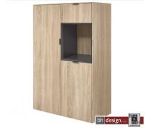 Arte M Highboard Chase, 2 Türen, 1 Schubkasten, verschiedene Farben 82 x 137 x 40 cm