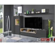 Arte M Wohnkombination  Chase  verschiedene Farben und Varianten 274 x 180 x 45 cm