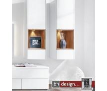 Arte M Hängeelement  Chester 1 Tür, 1 Schubkasten in verschiedenen Varianten 44 x 135 x 36 cm